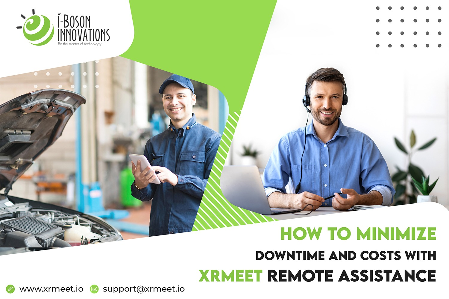Minimize downtime and costs with XRmeet AR remote assistance